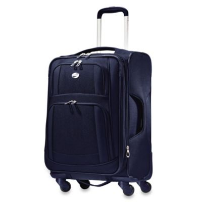 American Tourister iLite 21-Inch Carry-On Spinner in Blue