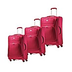 American Tourister iLite Luggage Collection in Pink