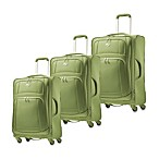 American Tourister iLite Luggage Collection in Green