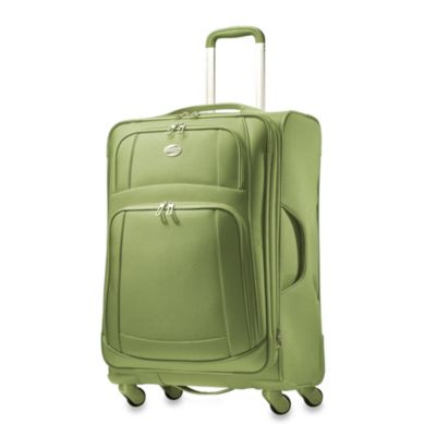 American Tourister iLite 21-Inch Carry-On Spinner in Green