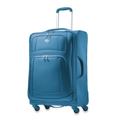 American Tourister iLite 21-Inch Carry-On Spinner in Sea Blue