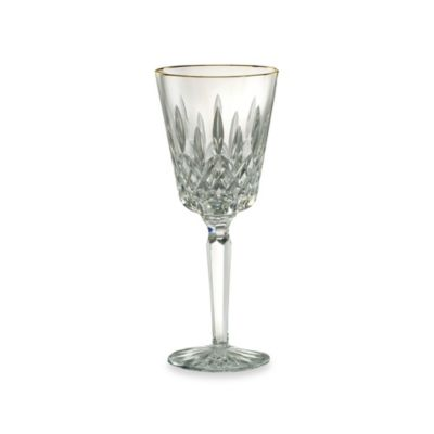 Waterford® Lismore Tall Gold Goblet