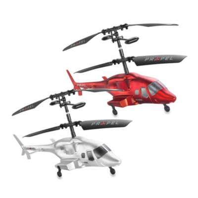 Propel Execuheli II Remote Controlled Indoor Helicopter in Silver