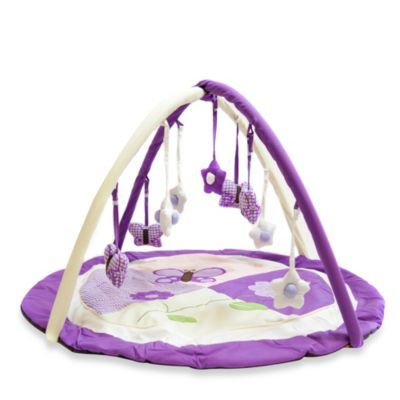 Activity > Pam Grace Creations Lavender Butterfly Play Gym