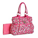 Hello Kitty® Print Fashion Tote Diaper Bag