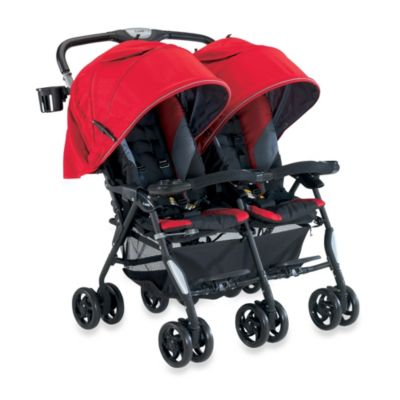 Combi® Twin Cosmo Double Stroller in Red