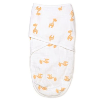 aden® by aden + anais® Small/Medium Easy Swaddle™ in Safari Giraffe