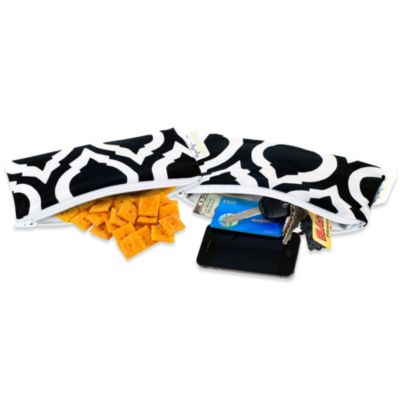 Itzy Ritzy® Mini Snack Happens™ Reusable Snack & Everything Bag in Moroccan Nights (Set of 2)