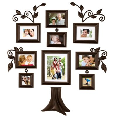 Wallverbs™ Family Tree 9-Piece Family Tree Collection
