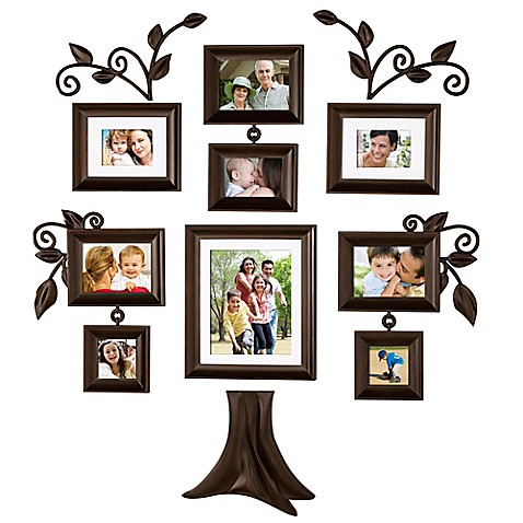 Wallverbs Family Tree 9 Piece Family Tree Collection