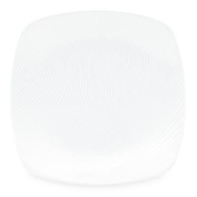 Noritake® White on White Dune Square Platter