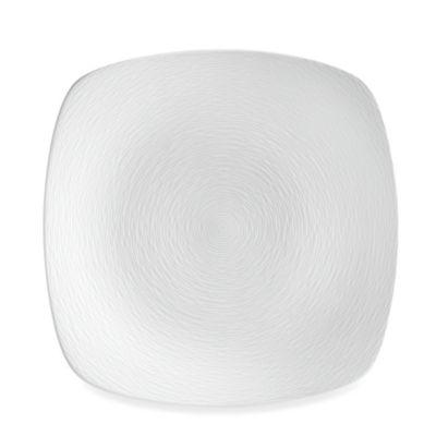 Noritake® White on White Swirl Square Platter