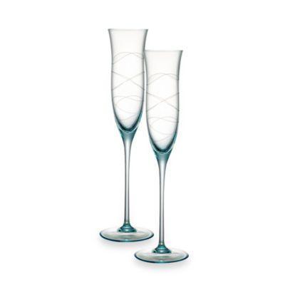 Blue Toasting Glasses