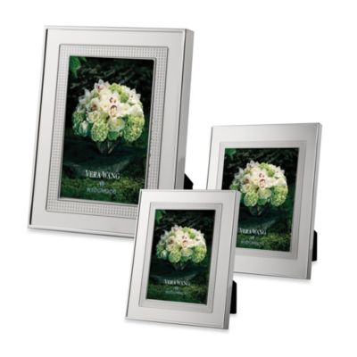 Vera Wang Wedgwood® Blanc sur Blanc 5-Inch x 7-Inch Frame