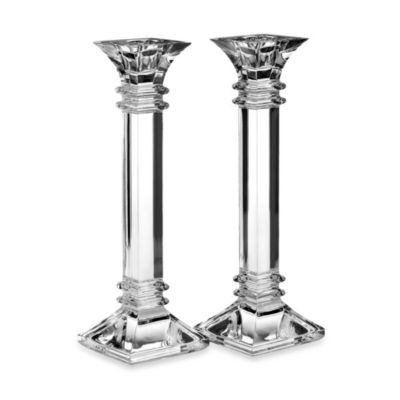 Marquis® by Waterford Treviso 10-Inch Candlesticks (Set of 2)
