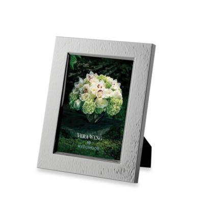 Vera Wang Wedgwood Hammered 5-Inch x 7-Inch Frame