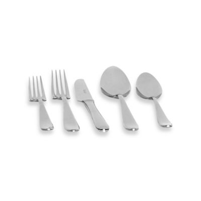 Red Vanilla Palladium 30-Piece Flatware Set