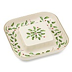 Lenox® Holiday™ 10.25-Inch Cheese and Cracker Plate