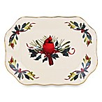 Lenox® Winter Greetings® Archive 9-Inch Scalloped Tray