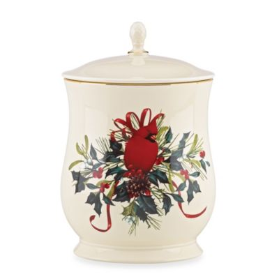 Lenox® Winter Greetings Cookie Jar