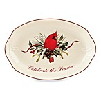 Lenox® Winter Greetings® 10.5-Inch Celebrate the Season Tray