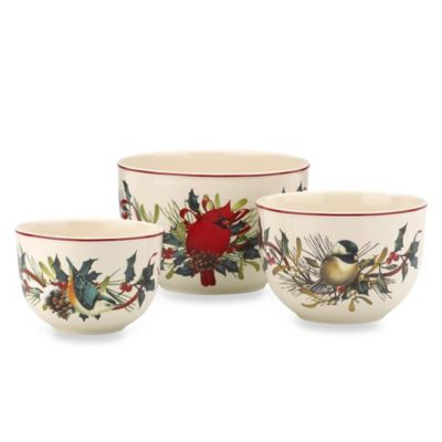 Lenox® Winter Greetings® Nesting Bowls (Set of 3)