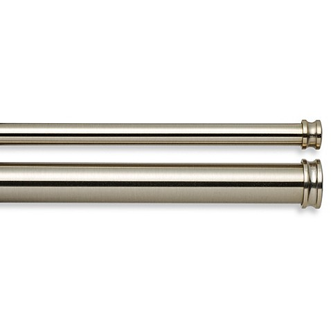 Cambria Complete Brass Curtain Rod Bed Bath Beyond