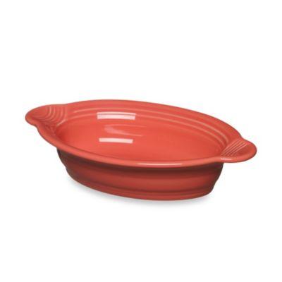 Fiesta® 17 oz. Oval Individual Casserole Dish in Flamingo