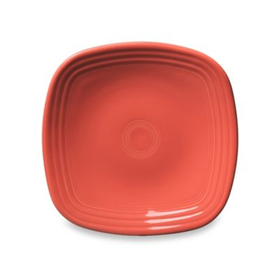 Fiesta® 9 1/8-Inch Square Luncheon Plate in Flamingo