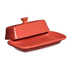 Fiesta® Extra-Large Covered Butter Dish in Flamingo