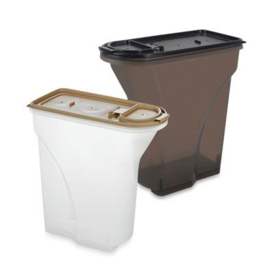 IRIS USA 8-Quart Airtight Pet Food Container in Almond
