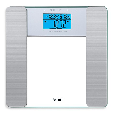 Homedics Glass Body Fat Scale