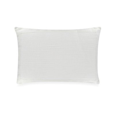 Vera Wang Sculpted Floral Toss Pillow