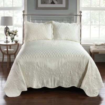 Parisian Standard Pillow Sham in Ivory