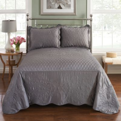 Parisian Standard Pillow Sham in Slate