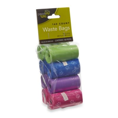 Paws Life™ 160-Count Rolled Pick Up Waste Bags
