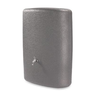 73-Gallon Oval Rain Barrel in Grey