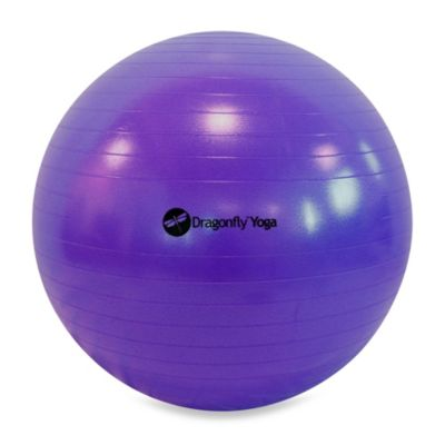 Dragonfly™ Yoga 65-Centimeter Fitness Ball & Pump