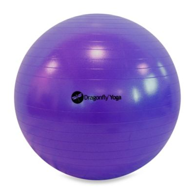 Dragonfly Yoga 55-Centimeter Fitness Ball & Pump
