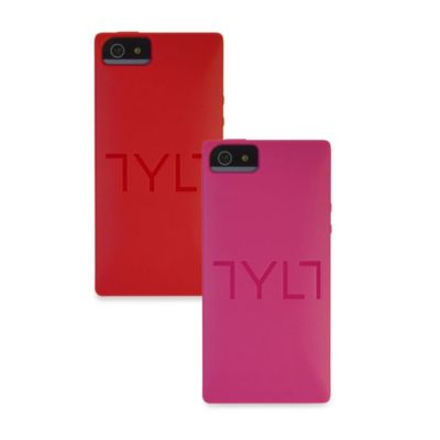 TYLT SQRD Slider Skin Phone Case for iPhone 5/5s in Red
