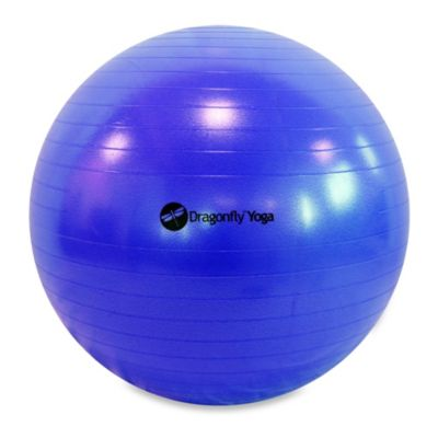 Dragonfly™ Yoga 75-Centimeter Fitness Ball