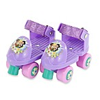 Disney® Fairies Junior Glitter Skates Combo with Knee Pads