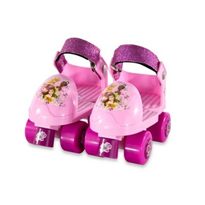 Disney® Princess Junior Skates with Knee Pads Combo
