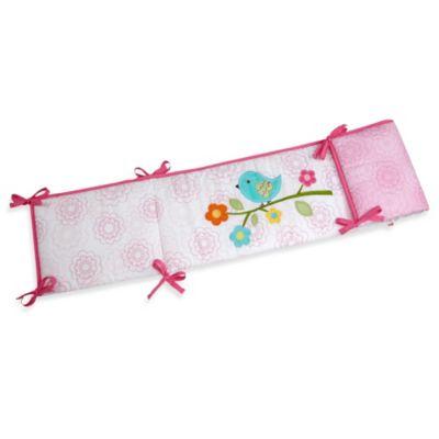 NoJo® Love Birds 4-Piece Secure-Me Crib Bumper