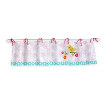NoJo® Love Birds Window Valance