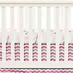 Oliver B City of Dreams 2-Piece Crib Bedding Set in Pink/Grey
