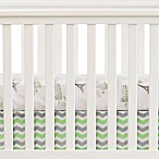 Oliver B City of Dreams 2-Piece Crib Bedding Set in Mint/Grey