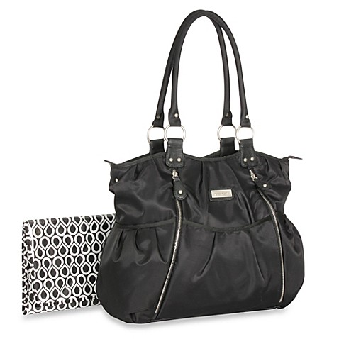 Carter S 174 Double Zip Front Fashion Tote Diaper Bag Bed