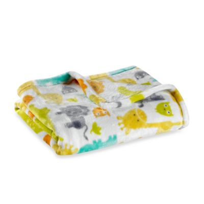 Baby Starters® Silky Soft Safari Blanket in Yellow