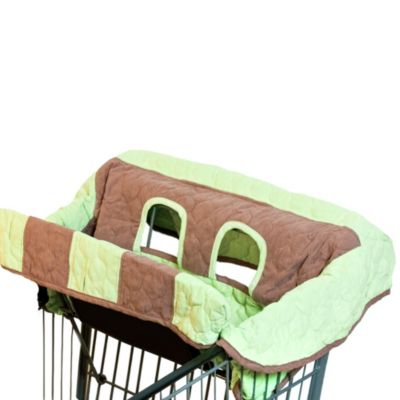 Pam Grace Creations Shopping Cart and High Chair Cover in Sweet Pea